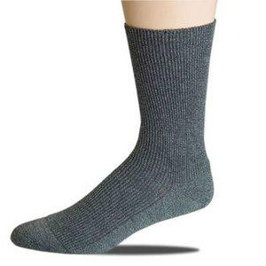 Ripp sokken extra wijd / Ecru