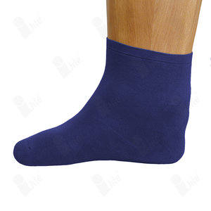 Microplüsch sokken extra wijd